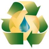 Падение лист - экологическая концепция - логотип иллюстрация вектора