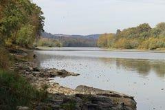 Падение на Susquehanna Стоковые Фото