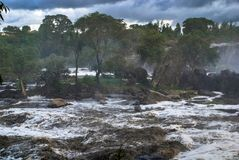 14 падений Thika Кения Африка Стоковое Изображение RF