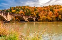 Падения Камберленда моста Gatliff мемориальные стоковая фотография rf