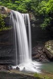 Падения огурца - парк штата Ohiopyle, Пенсильвания стоковое фото