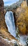 падения понижают yellowstone Стоковые Изображения