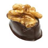падения шоколада Стоковые Фото