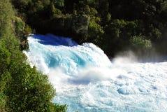 Падения Huka, Новая Зеландия Стоковые Фотографии RF