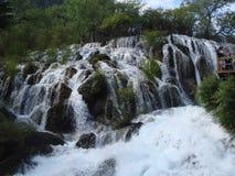 падения noirang долины jiuzhai стоковое фото rf