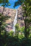 Падения Wallaman, каскад и водопад horsetail на Sto стоковое изображение