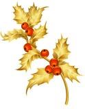 падуб золота Стоковая Фотография RF