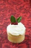 падуб пирожня рождества Стоковое Фото