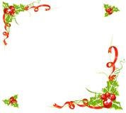 падуб рамки ягод Стоковое Изображение RF