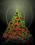 падуб рождества колоколов предпосылки веселый Стоковая Фотография