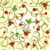 падуб cyclic ягоды предпосылки Стоковая Фотография