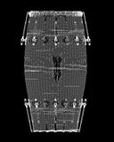 Паз барабанчика Djembe Стоковое Изображение RF