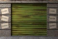 пакгауз 3d Стоковая Фотография RF