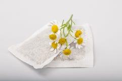 Пакетики чая стоцвета Стоковое Изображение