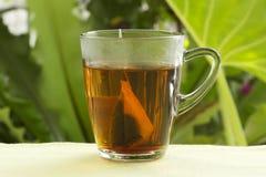 Пакетики чая с чашками стоковое изображение rf