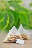 Пакетики чая стоковое изображение