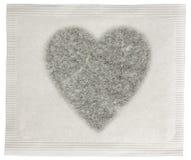 Пакетик чая влюбленности стоковые изображения rf