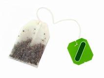 пакетик чая травяного чая стоковое изображение