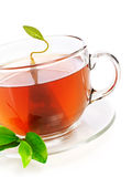 пакетик чая чая чашки Стоковое Изображение RF