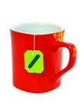 пакетик чая чая чашки стоковые изображения rf