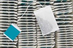 пакетик чая стоковое изображение rf