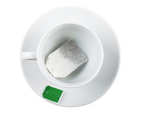 пакетик чая стоковое фото rf