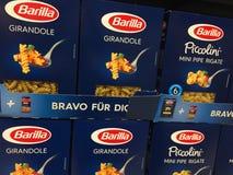 Пакеты макаронных изделий Barilla стоковая фотография rf