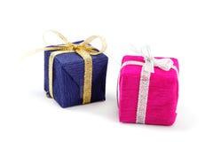 Пакеты подарков. Стоковое Фото