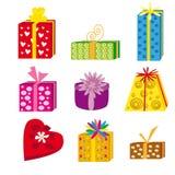 пакеты подарка Стоковые Изображения