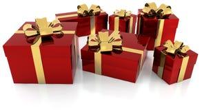 Пакеты подарка Стоковое Изображение
