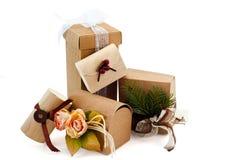 пакеты рождества Стоковая Фотография