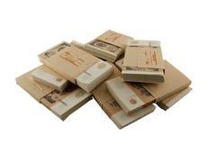 Пакеты советских рублей Стоковые Фотографии RF