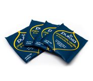 Пакеты Pukka чая показаны на белой предпосылке стоковые изображения rf