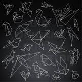 Пакет большого origami животный Стоковое фото RF
