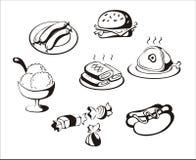 пакет еды Стоковые Фото