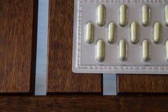 Пакет лекарства капсулы Стоковые Изображения