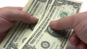 Пакет денег сток-видео