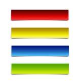 пакет знамени Стоковое Изображение RF