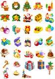 пакет изображения рождества Стоковые Изображения