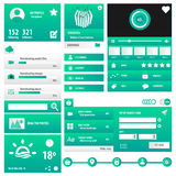 Пакет интерфейса бизнес-пользователя Стоковая Фотография