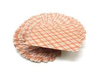 пакет карточек играя рубашку striped Стоковые Фотографии RF
