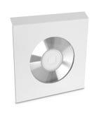 Пакет компакт-диска на белой предпосылке Стоковые Фотографии RF