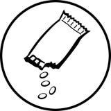 пакет конфеты Стоковые Фото