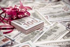Пакет лож валюта США Стоковые Фотографии RF