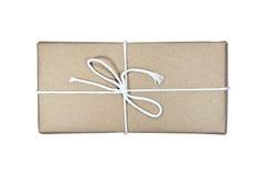 Пакет доставки посланный через почту Стоковые Фото