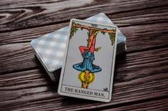 Пакет перфокарт всадник-Waite Tarot Стоковые Фото