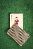 Пакет перфокарт с шутником Стоковые Фотографии RF