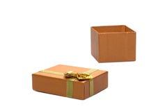 пакет подарка открытый Стоковая Фотография RF
