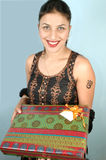 пакет подарка Стоковое Изображение