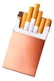 пакет сигареты Стоковое фото RF